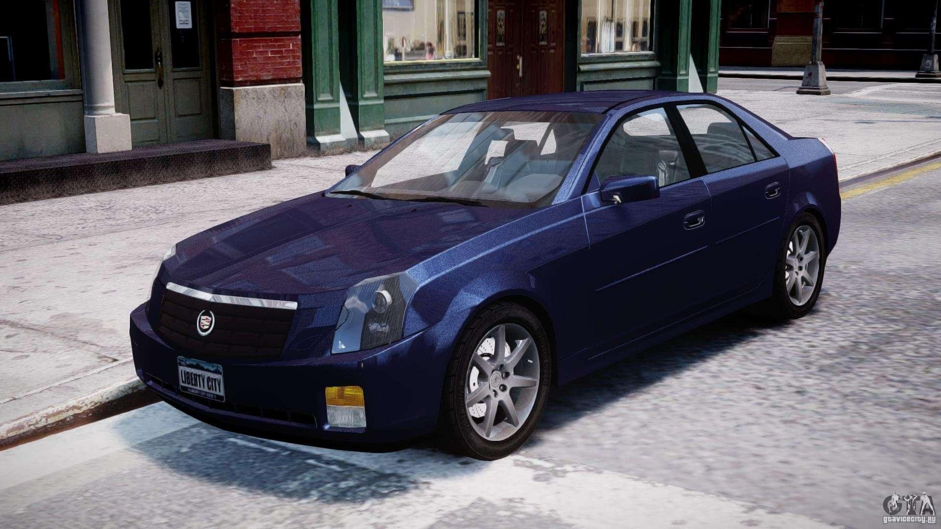 Cadillac Cts For Gta 4