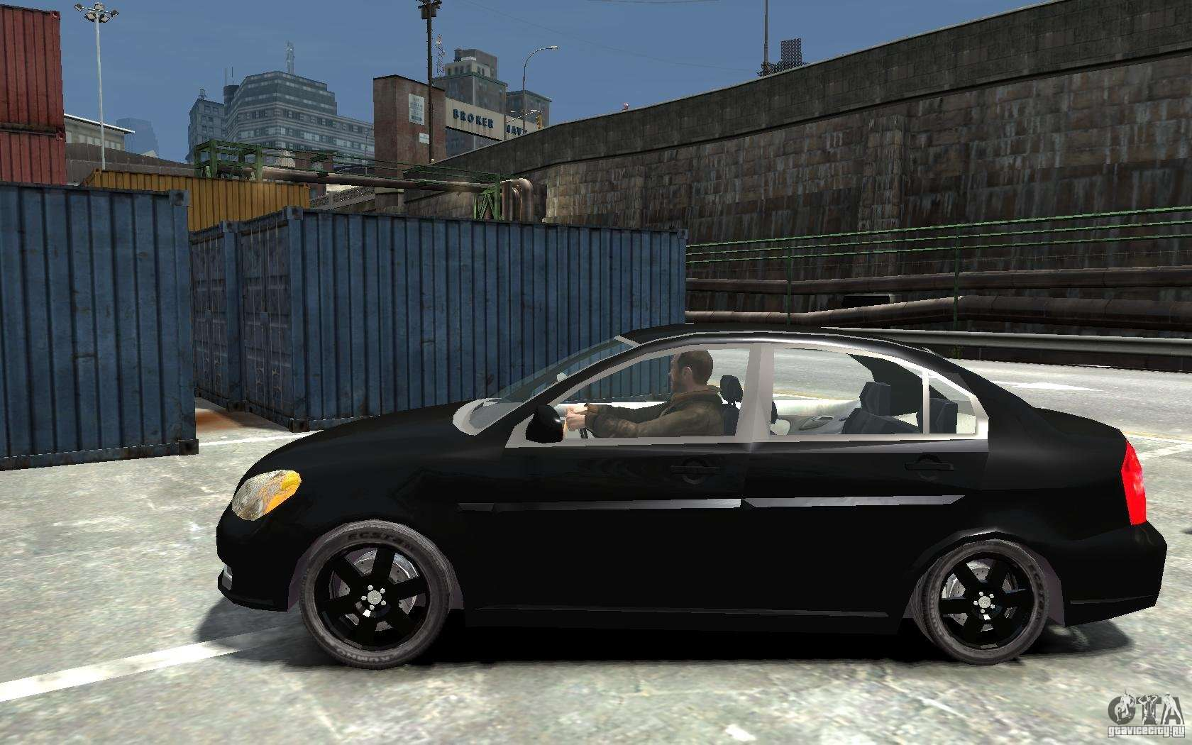 Hyundai Sonata Police Car >> Hyundai Accent 2006 for GTA 4