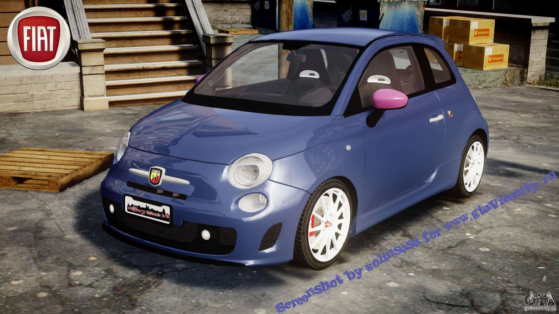 fiat 500 abarth ss for gta 4. Black Bedroom Furniture Sets. Home Design Ideas
