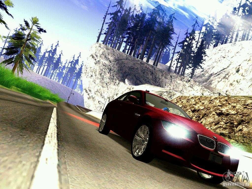 BMW M3 MotoGP SafetyCar for GTA San Andreas