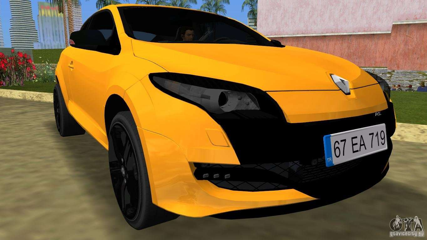 renault megane 3 sport for gta vice city. Black Bedroom Furniture Sets. Home Design Ideas