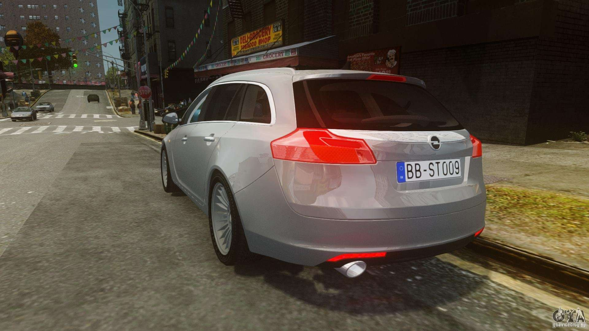 opel insignia sports tourer 2009 for gta 4. Black Bedroom Furniture Sets. Home Design Ideas