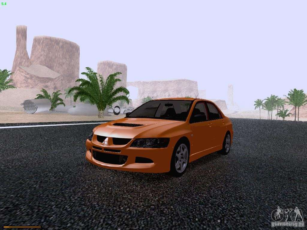 mitsubishi lancer evolution viii for gta san andreas. Black Bedroom Furniture Sets. Home Design Ideas