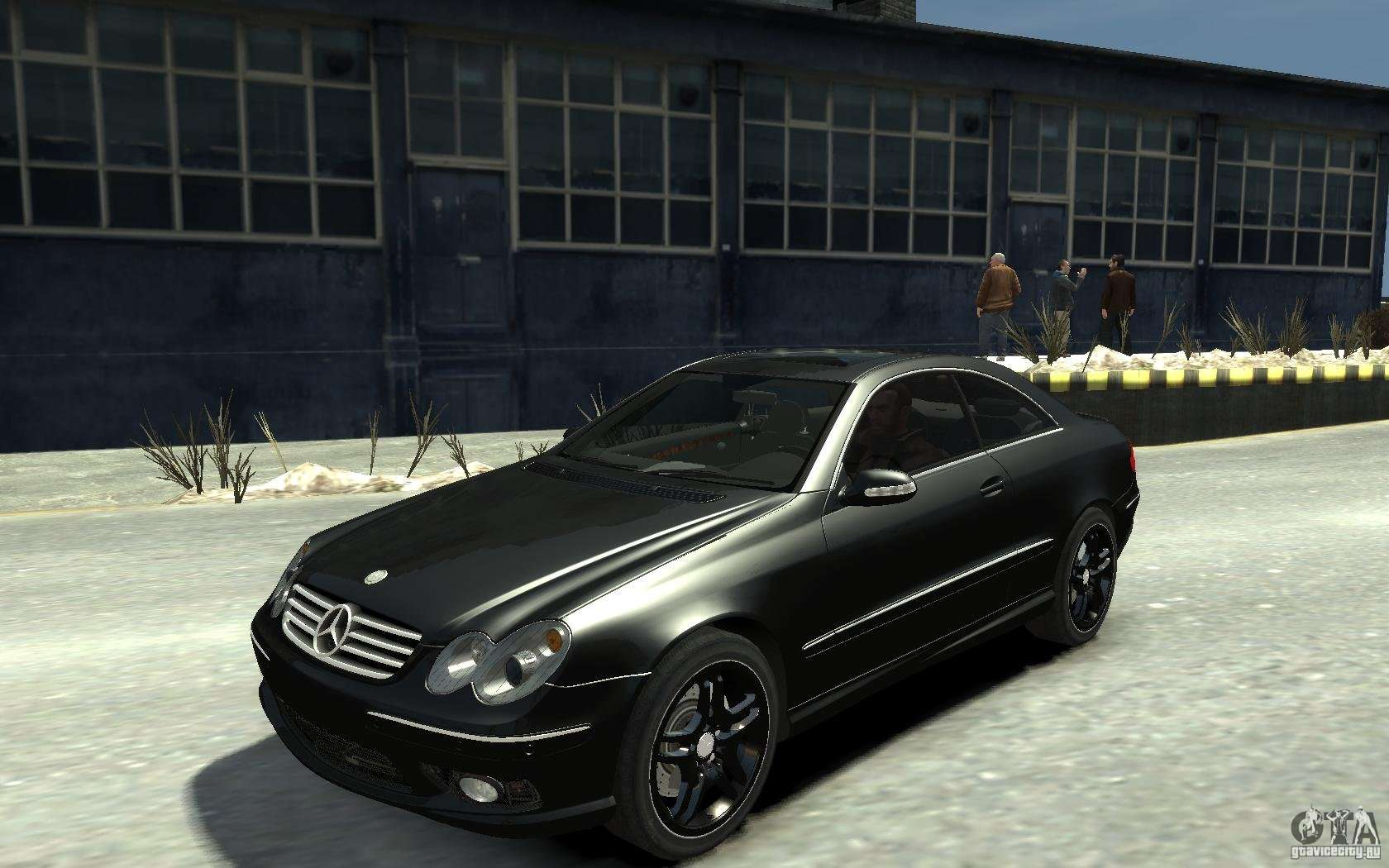 mercedes benz clk55 amg 2003 v1 for gta 4. Black Bedroom Furniture Sets. Home Design Ideas