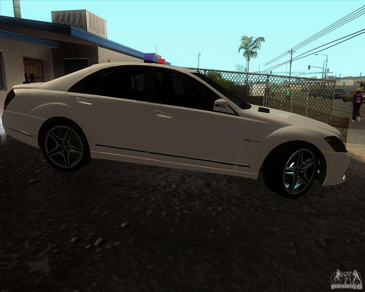 Mercedes benz s65 amg w221 for gta san andreas for Mercedes benz amg s65