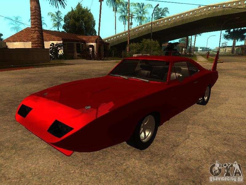 dodge charger daytona fast furious 6 for gta san andreas - Dodge Charger 1969 Fast And Furious 6