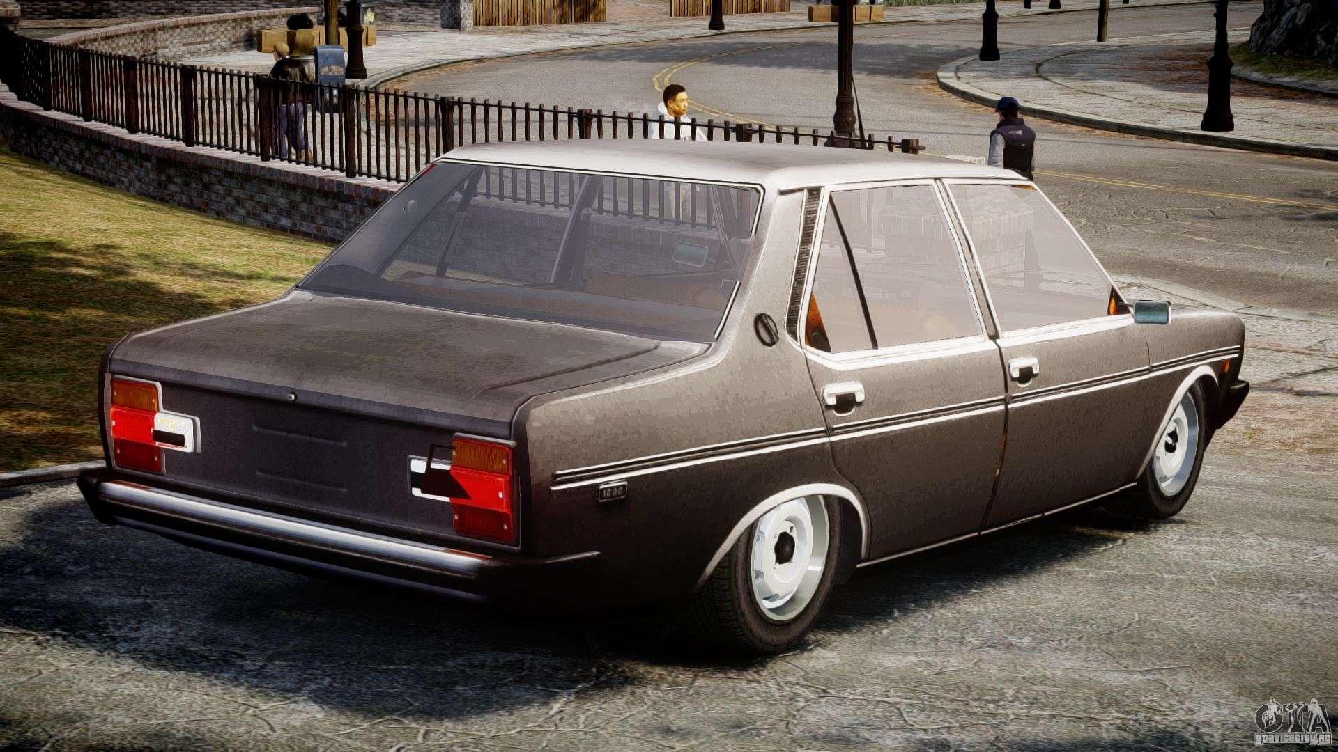 Fiat 131 Mirafiori 1974 For Gta 4