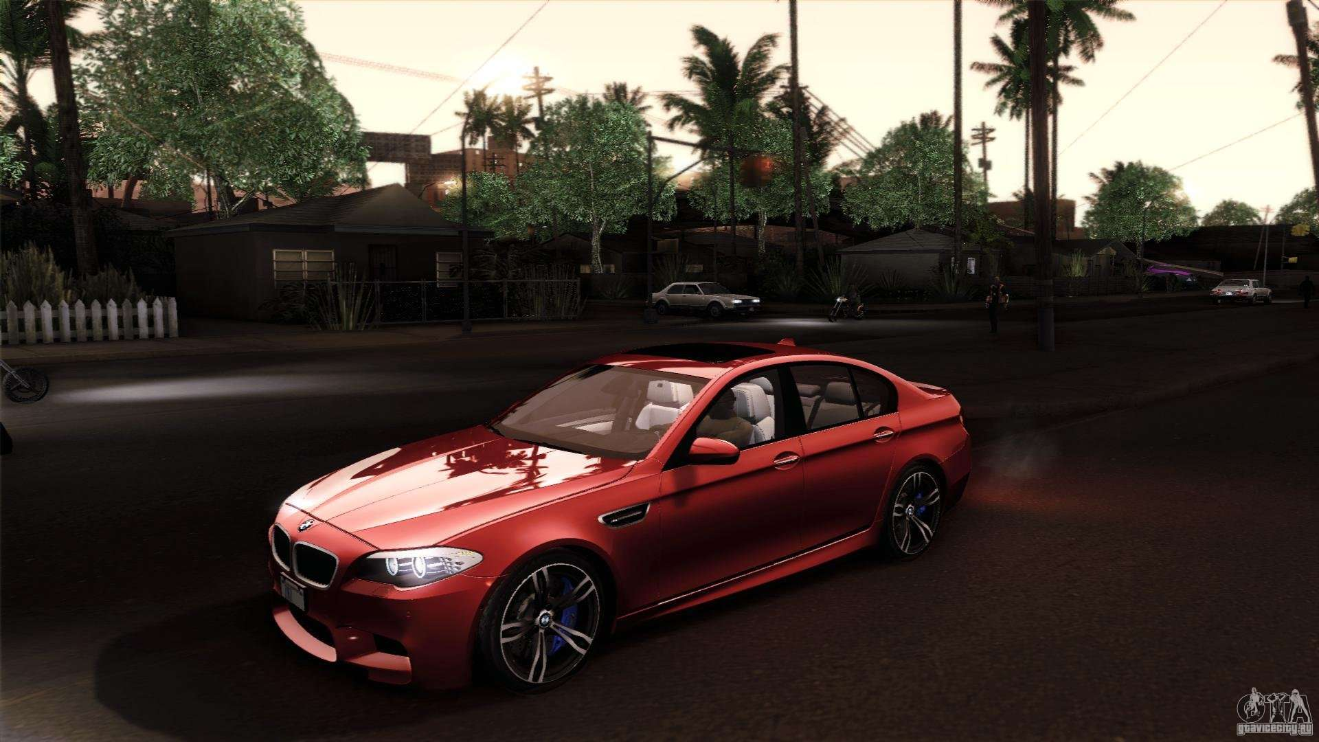 Gta Sa on Bmw F10 M5 Mods