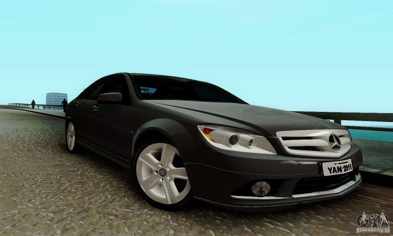 Mercedes benz c180 for gta san andreas for Mercedes benz gta