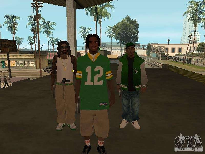 New skins Grove for GTA San Andreas