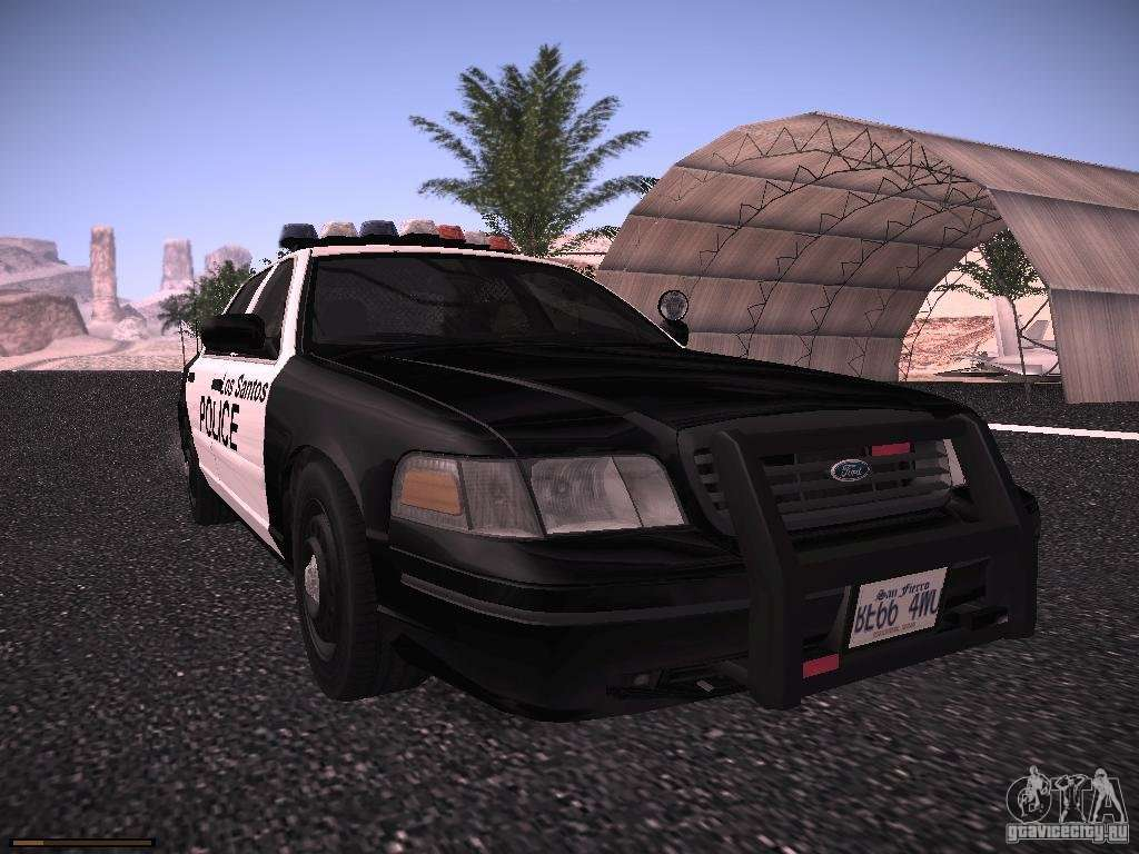 ford crown victoria police 2003 for gta san andreas. Black Bedroom Furniture Sets. Home Design Ideas