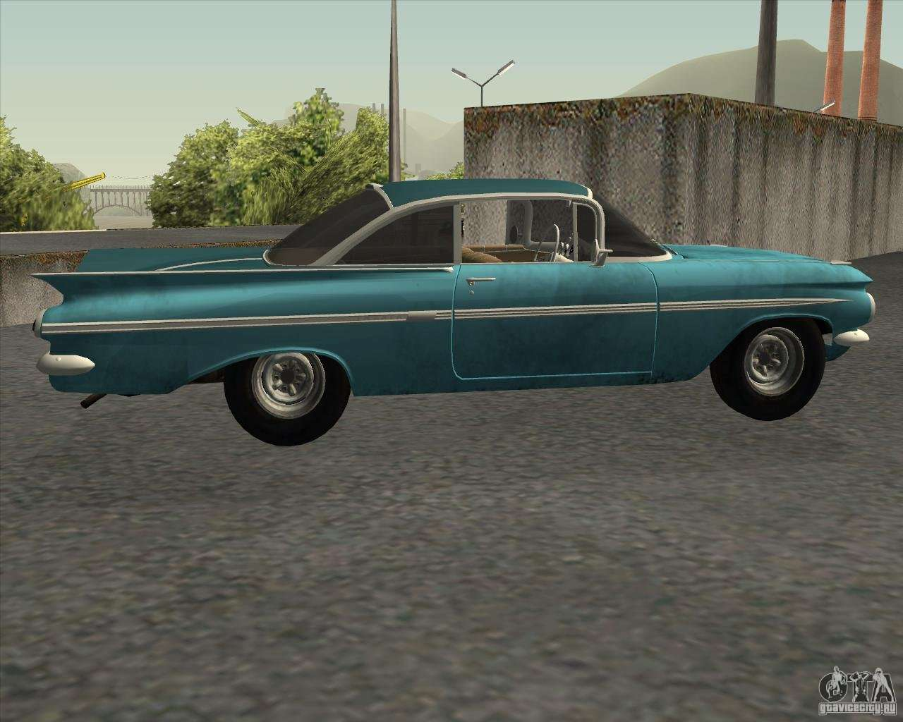 chevrolet impala coupe 1959 used for gta san andreas. Black Bedroom Furniture Sets. Home Design Ideas