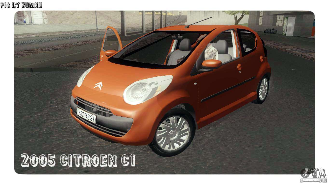 citroen c1 2005 for gta san andreas. Black Bedroom Furniture Sets. Home Design Ideas