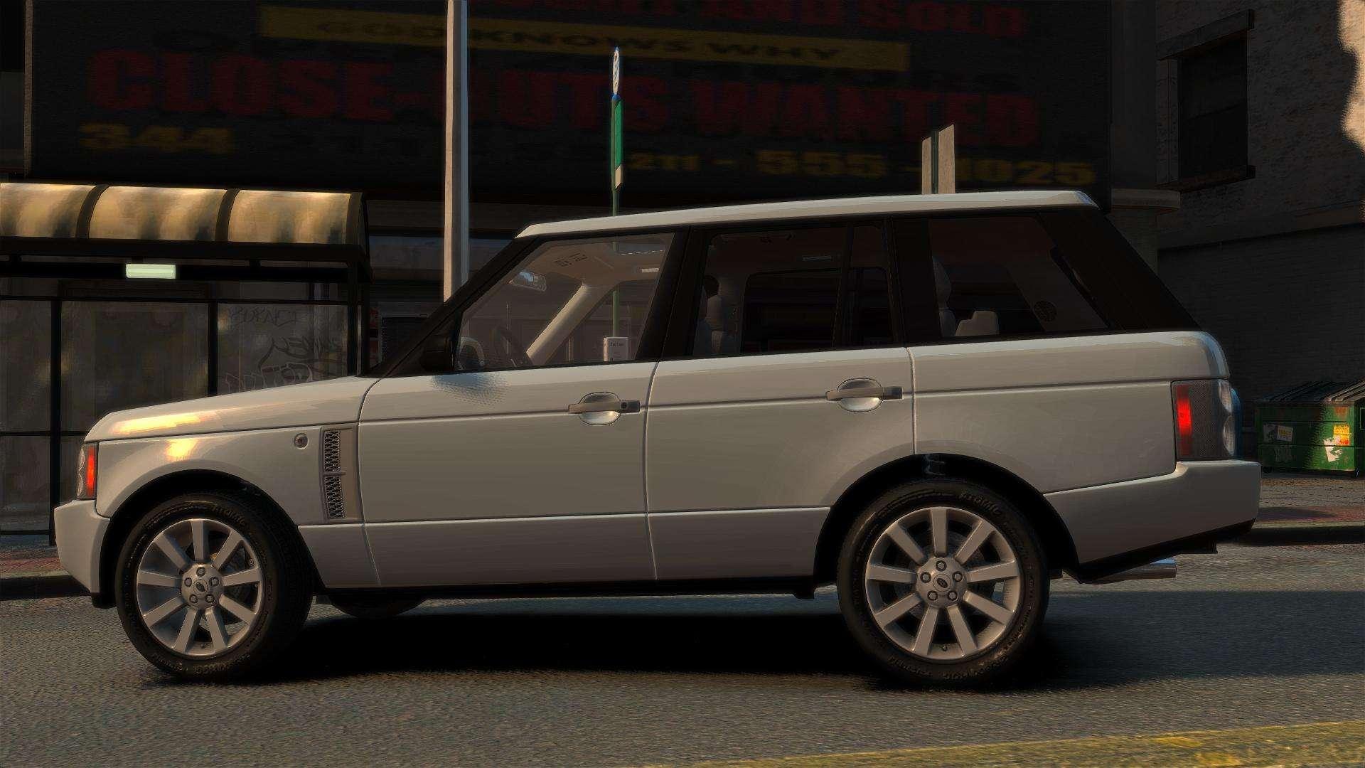 range rover supercharged for gta 4. Black Bedroom Furniture Sets. Home Design Ideas