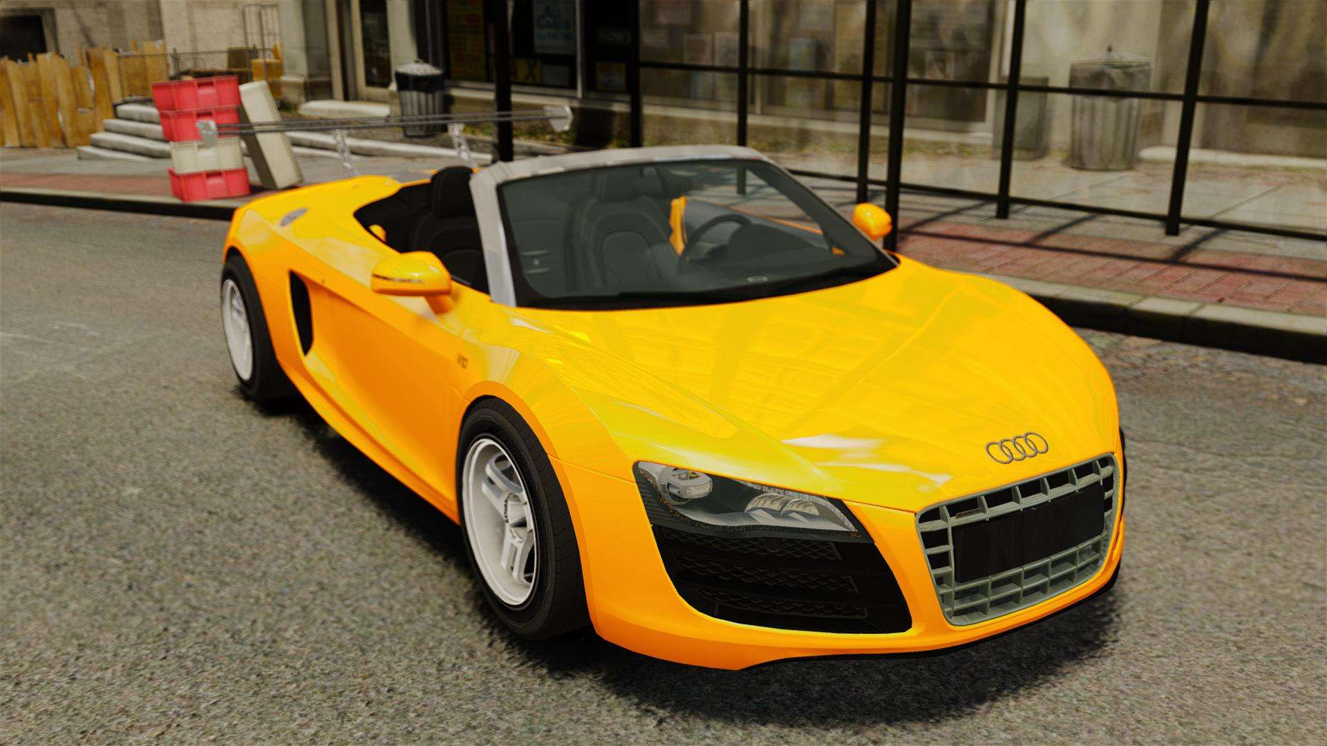 Audi R8 Spyder For Gta 4