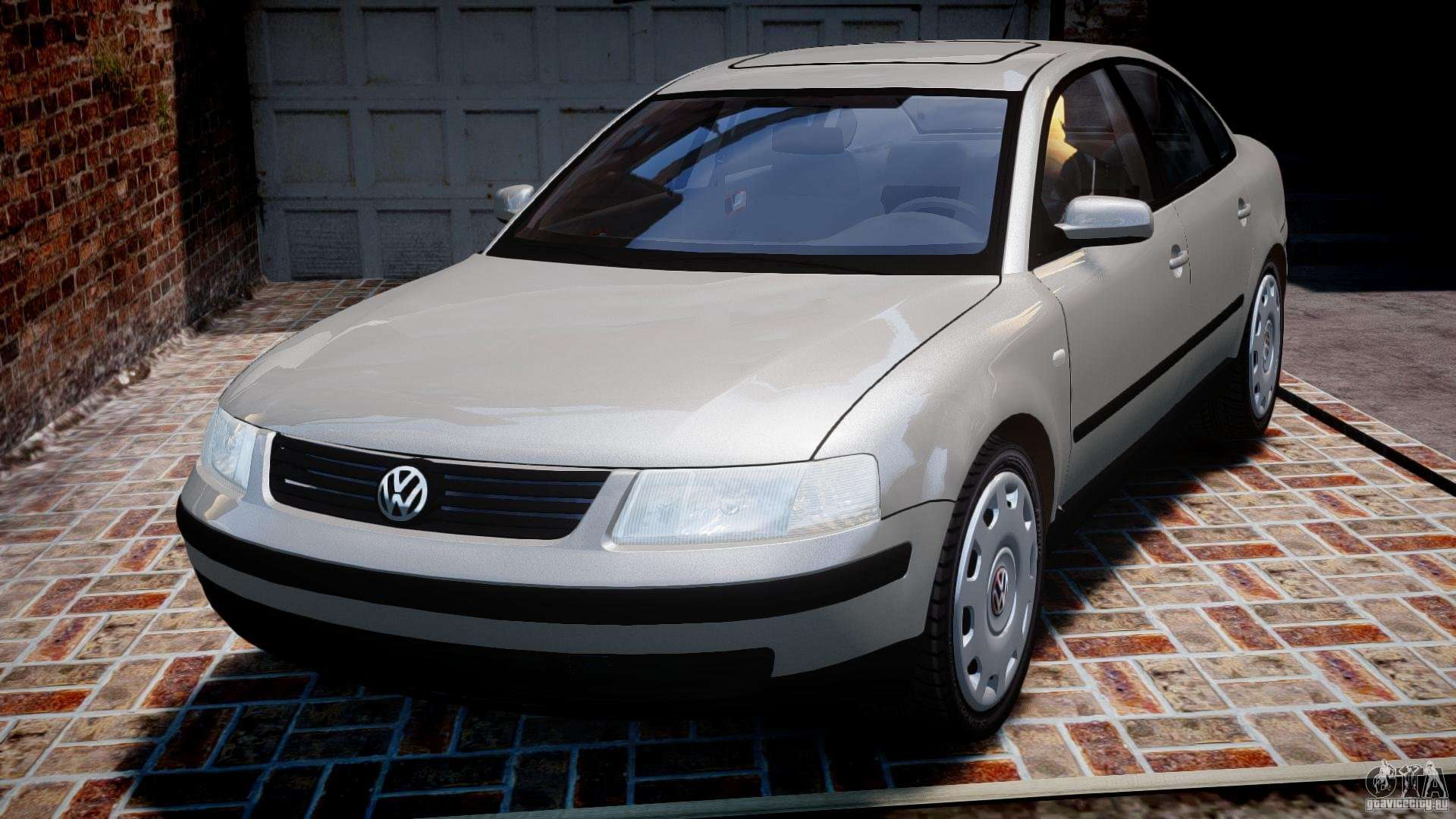 volkswagen passat b5 for gta 4. Black Bedroom Furniture Sets. Home Design Ideas