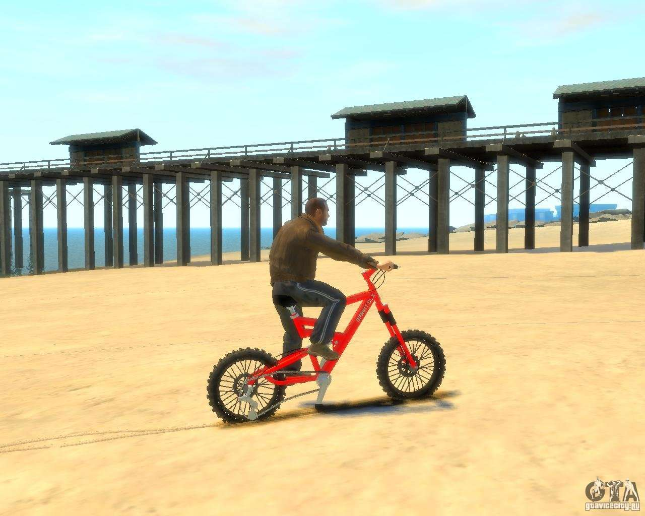 mountain bike for gta 4. Black Bedroom Furniture Sets. Home Design Ideas