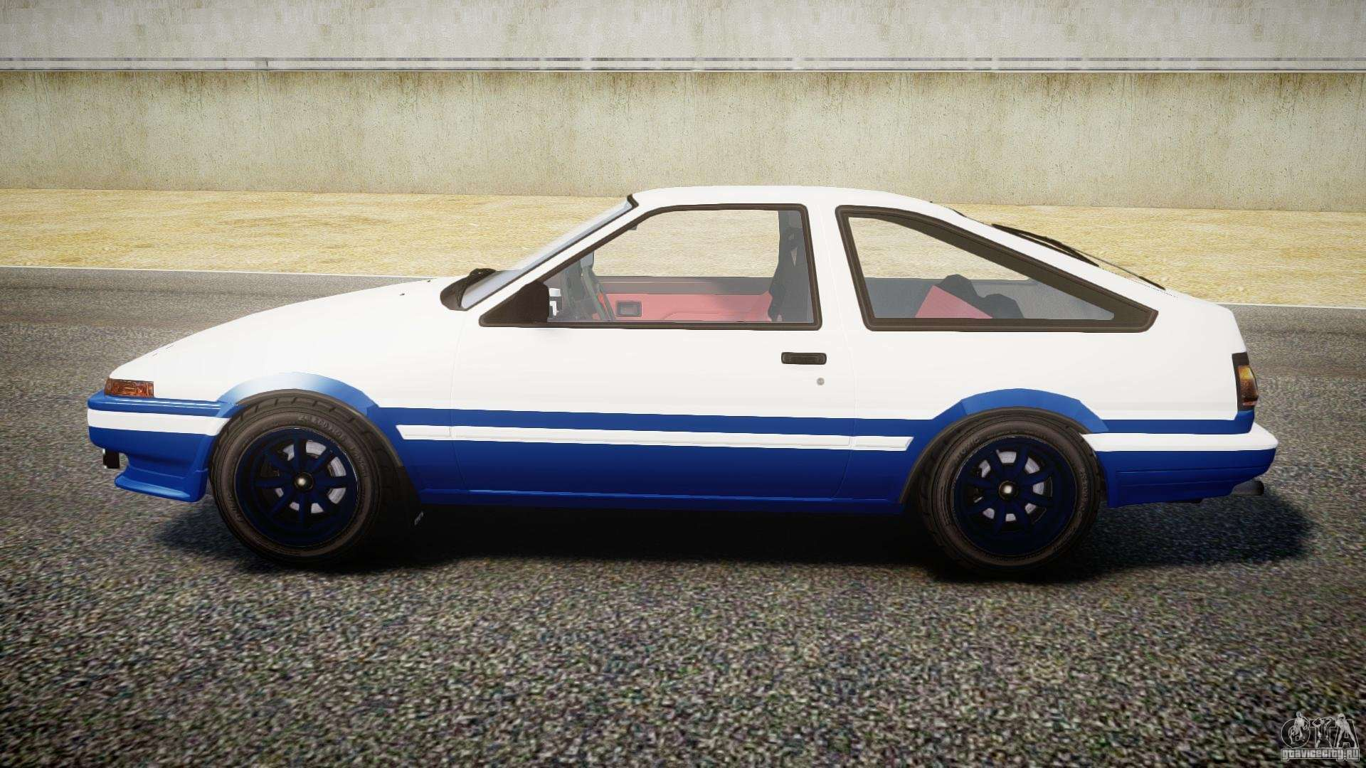 toyota trueno ae86 initial d for gta 4. Black Bedroom Furniture Sets. Home Design Ideas