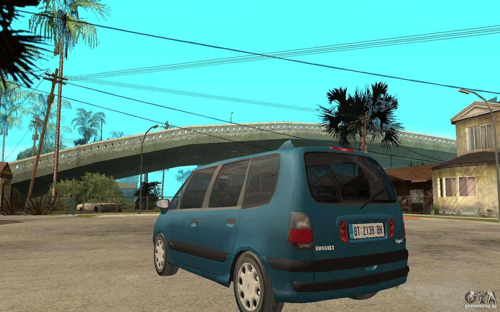 renault espace iii 1999 for gta san andreas. Black Bedroom Furniture Sets. Home Design Ideas