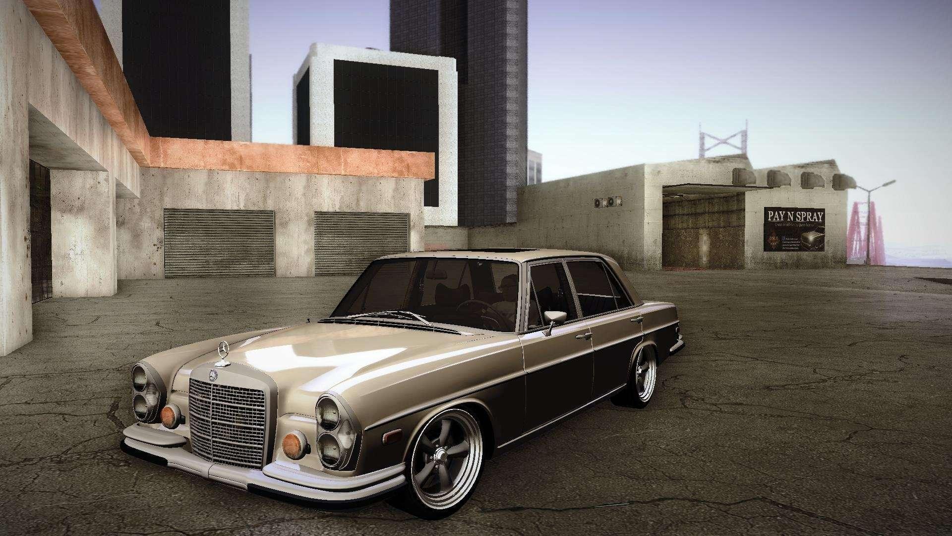 Mercedes benz 300 sel custom rc3d edit for gta san andreas for Mercedes benz custom