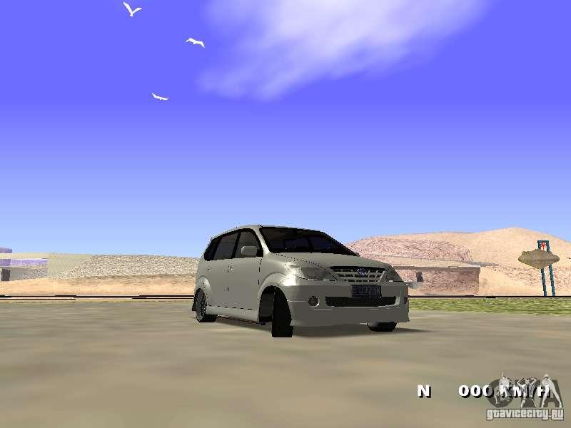 Toyota Avanza Street Edition For Gta San Andreas