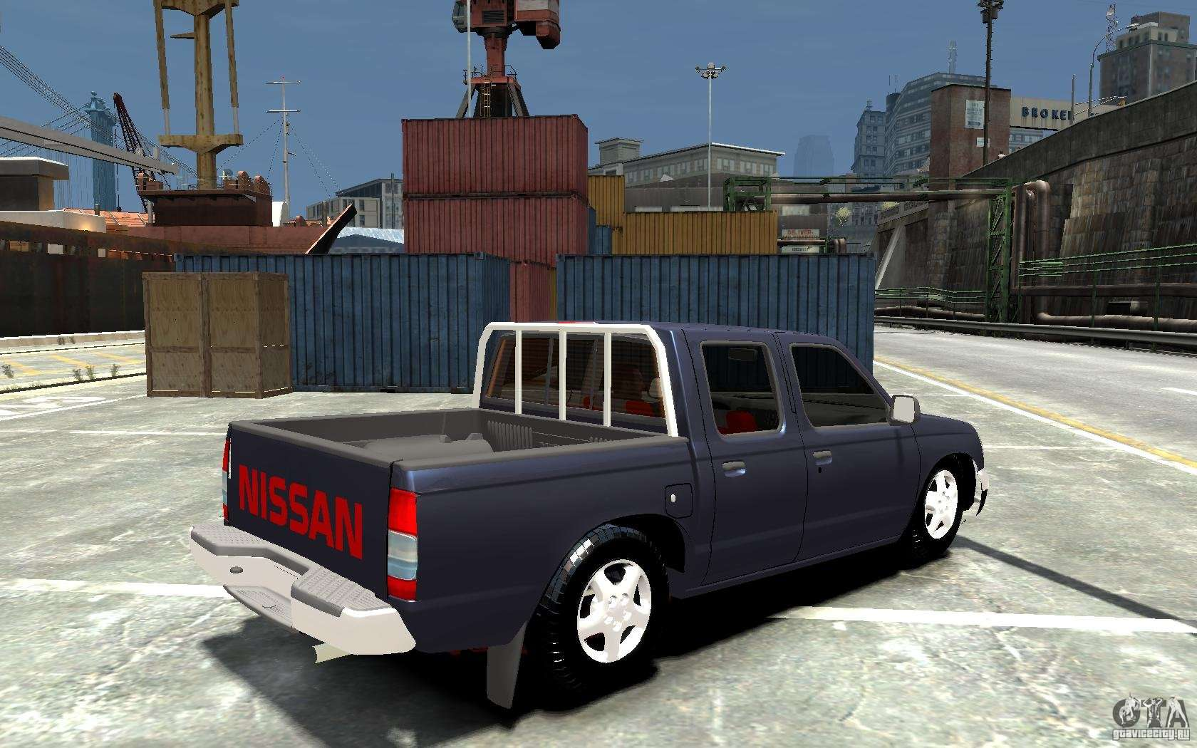 Nissan pickup v 2005 for gta 4 right view