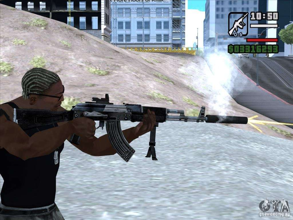 Ak 103 From Warface For Gta San Andreas