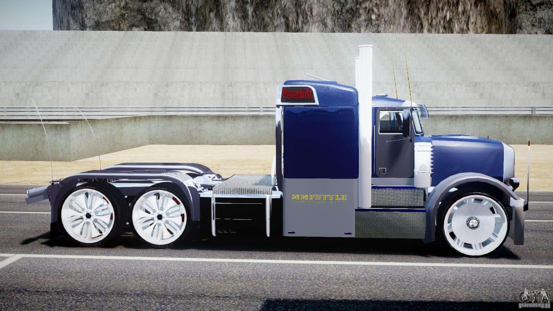 Peterbilt Truck Custom For Gta 4