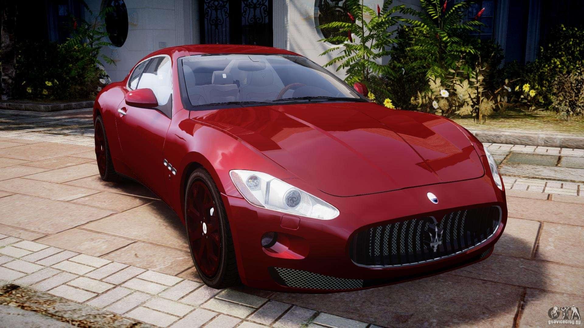 Maserati Granturismo V1 0 For Gta 4