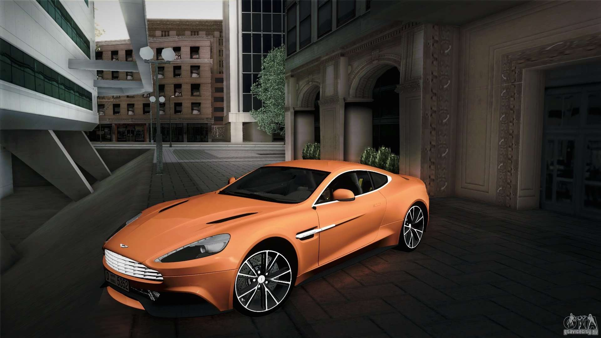 aston martin for gta san andreas