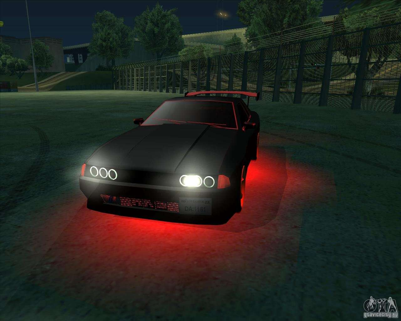 NEON mod for GTA San Andreas