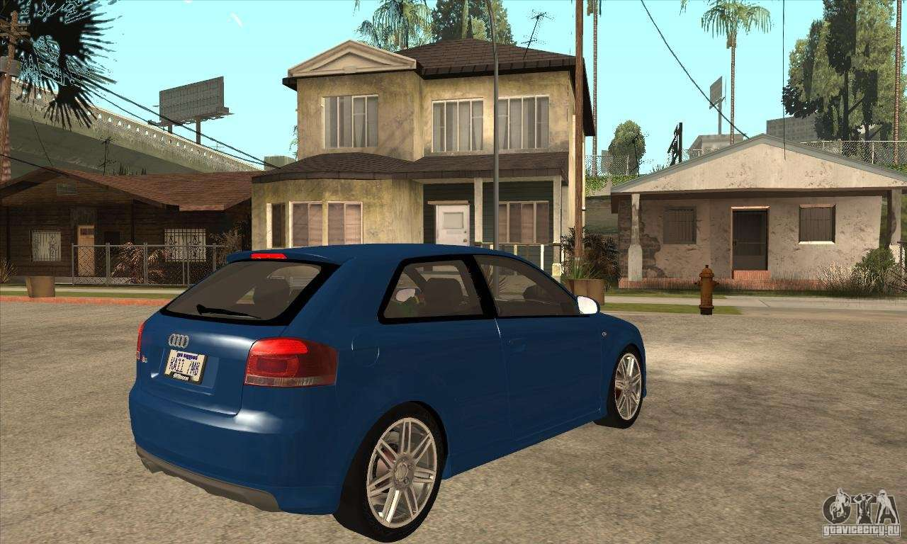 audi s3 2007 stock for gta san andreas. Black Bedroom Furniture Sets. Home Design Ideas