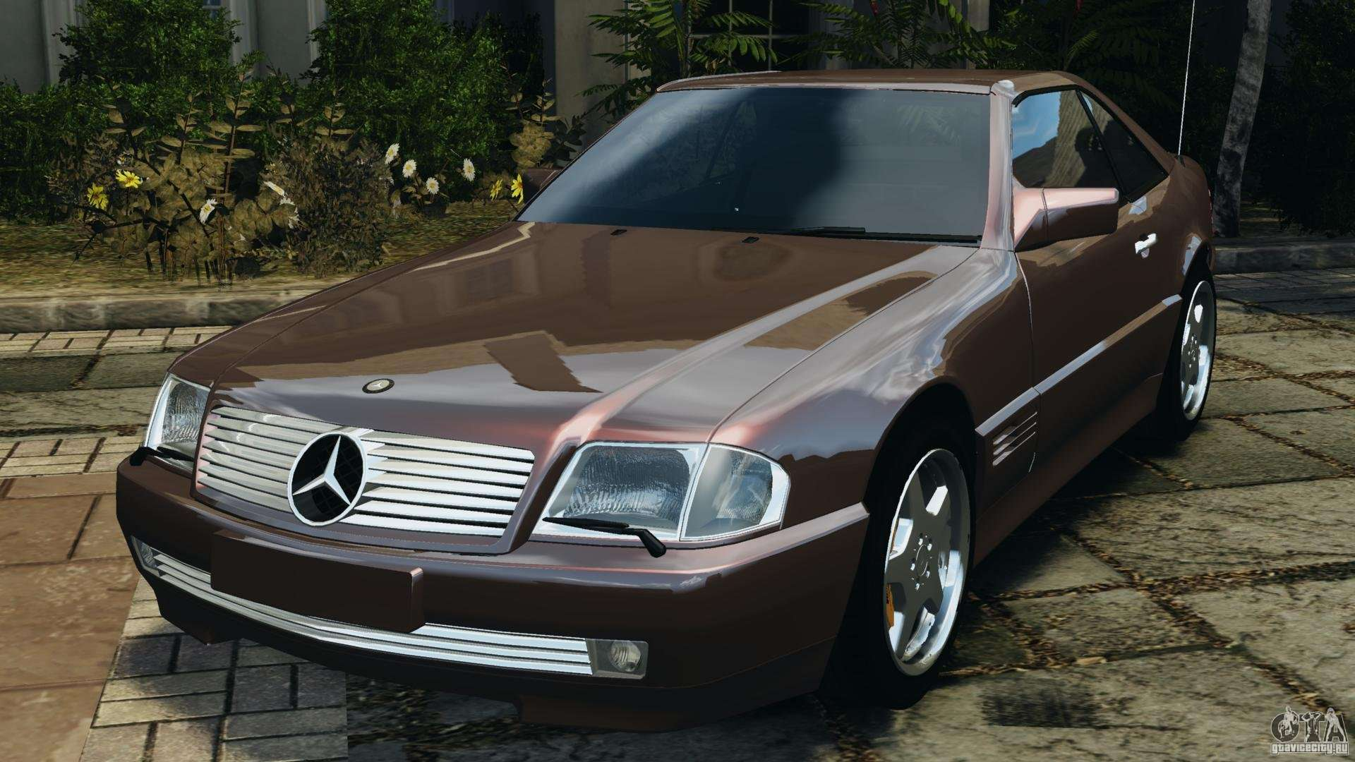 mercedes benz sl 500 amg 1995 final for gta 4. Black Bedroom Furniture Sets. Home Design Ideas