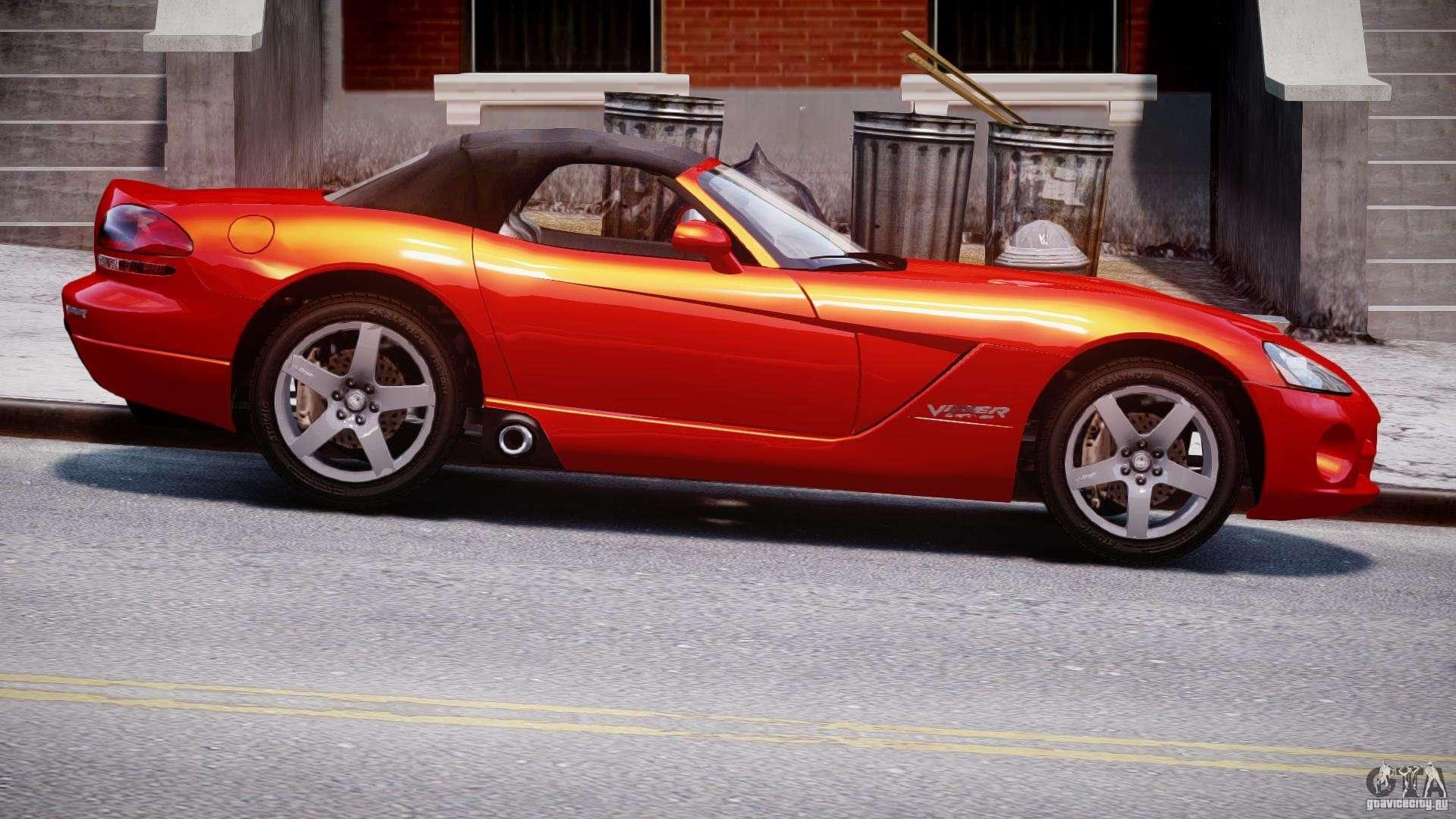 dodge viper srt 10 2003 1 0 for gta 4. Black Bedroom Furniture Sets. Home Design Ideas