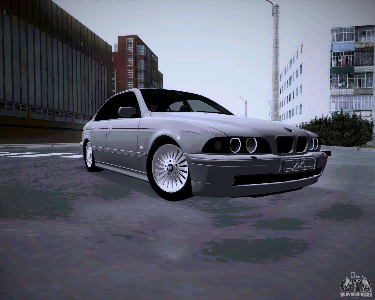 BMW E39 M5 >> BMW M5 E39 for GTA San Andreas