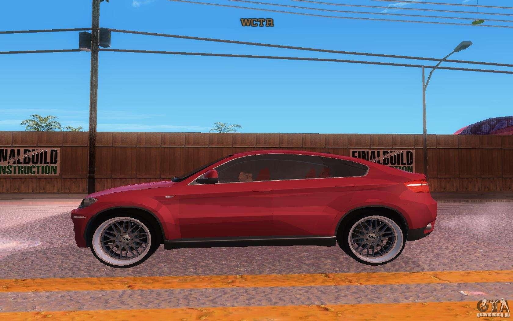 bmw x6 tuning for gta san andreas. Black Bedroom Furniture Sets. Home Design Ideas
