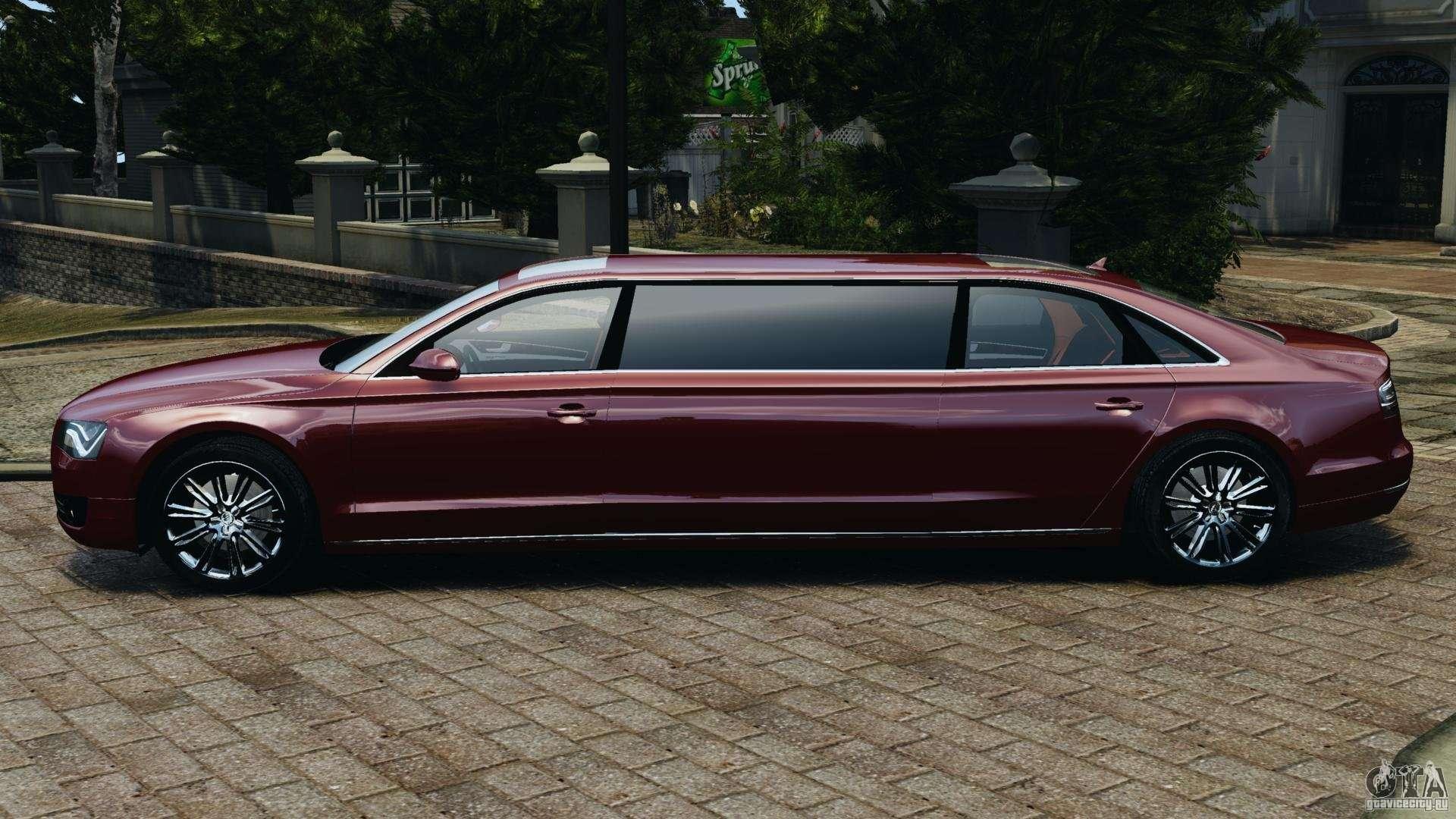 Audi A8 Limo V1 2 For Gta 4