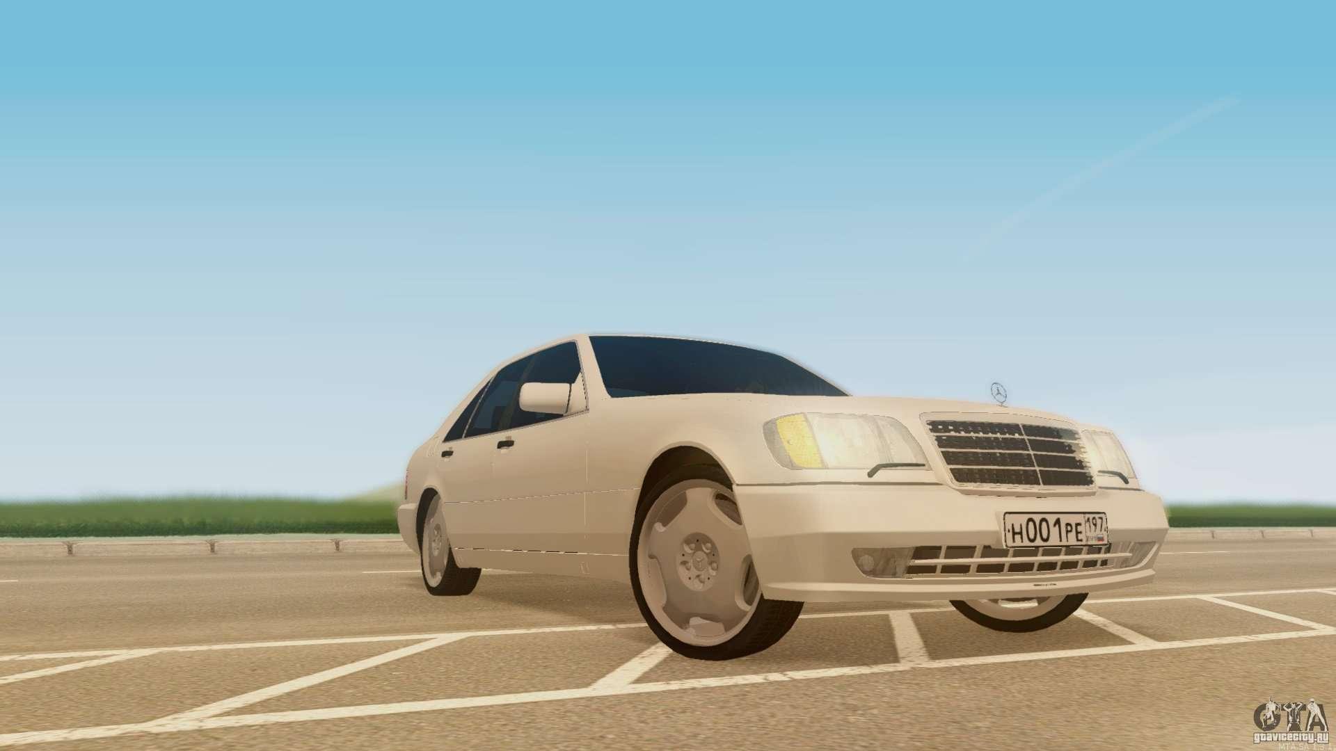 Mercedes benz 500se for gta san andreas for Mercedes benz 500se