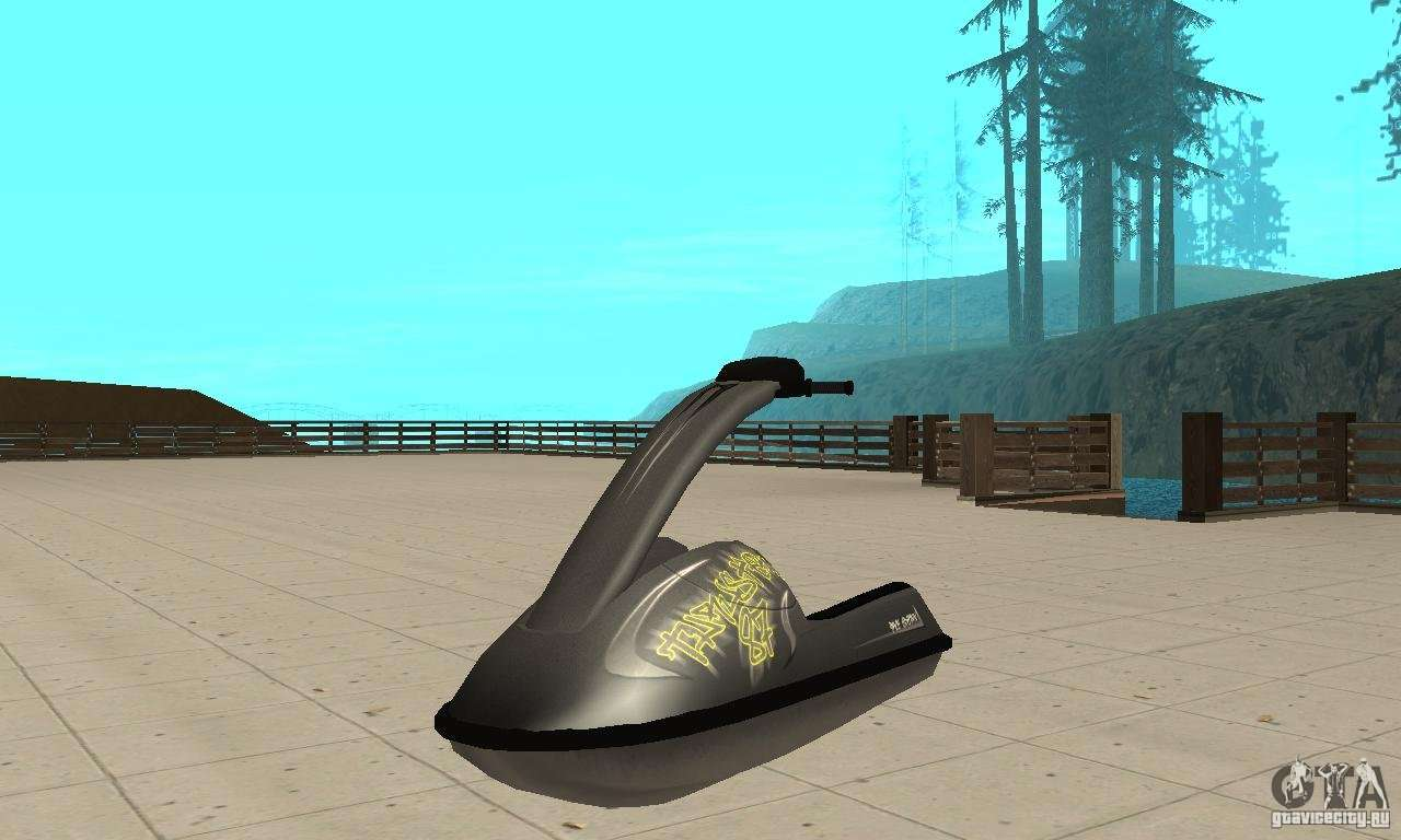Water Scooter for GTA San Andreas
