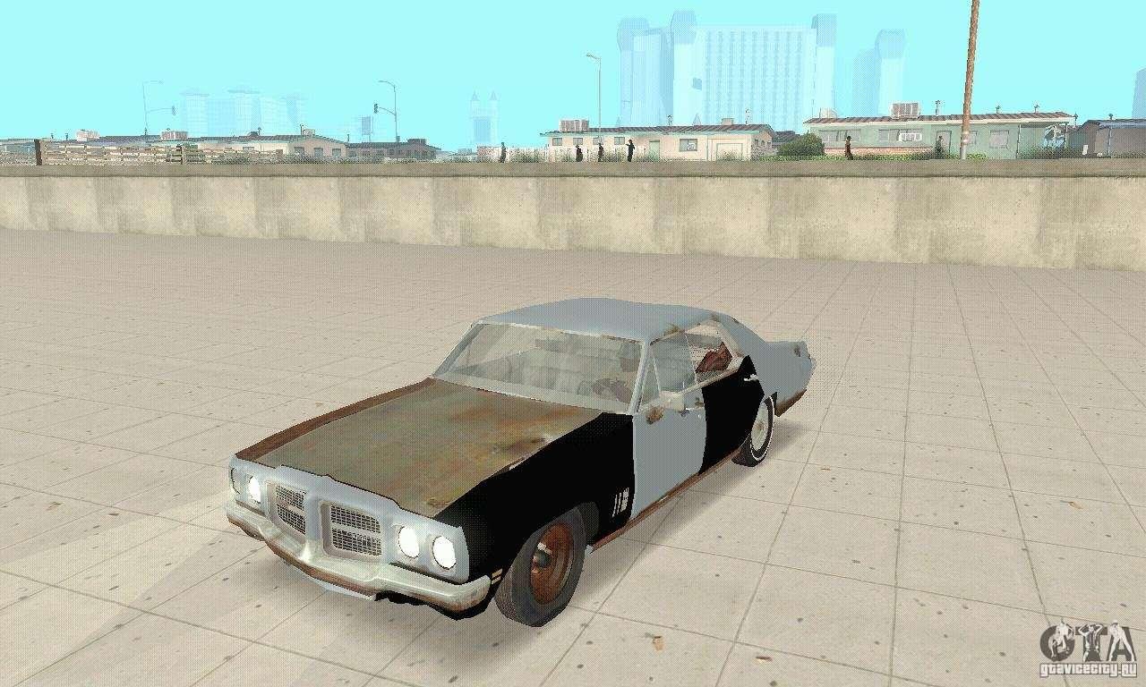 Pontiac LeMans 1970 Scrap Yard Edition for GTA San Andreas