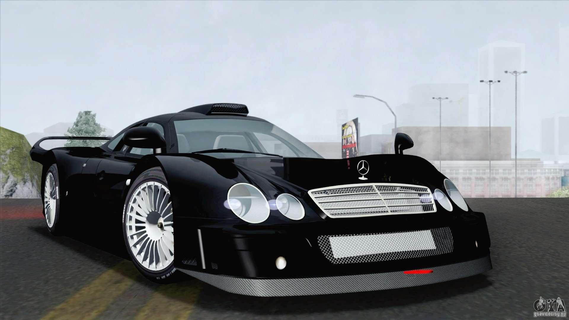 Mercedes Benz Clk Gtr Race Road Version Stock For Gta San