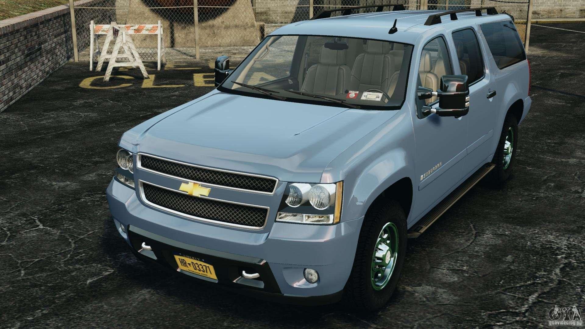 Chevrolet suburban gmt900 2008 v1 0 for gta 4