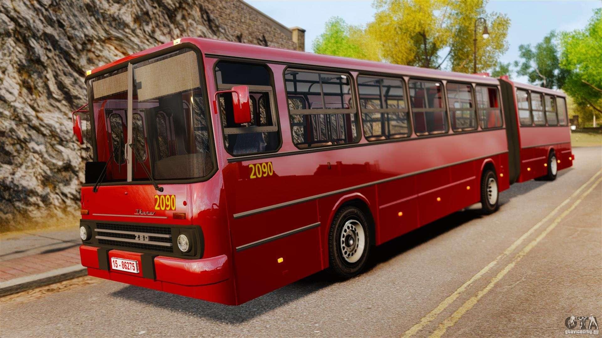 Ikarus 280 for gta 4 for Ikarus