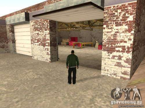 Activation of unused garages for GTA San Andreas