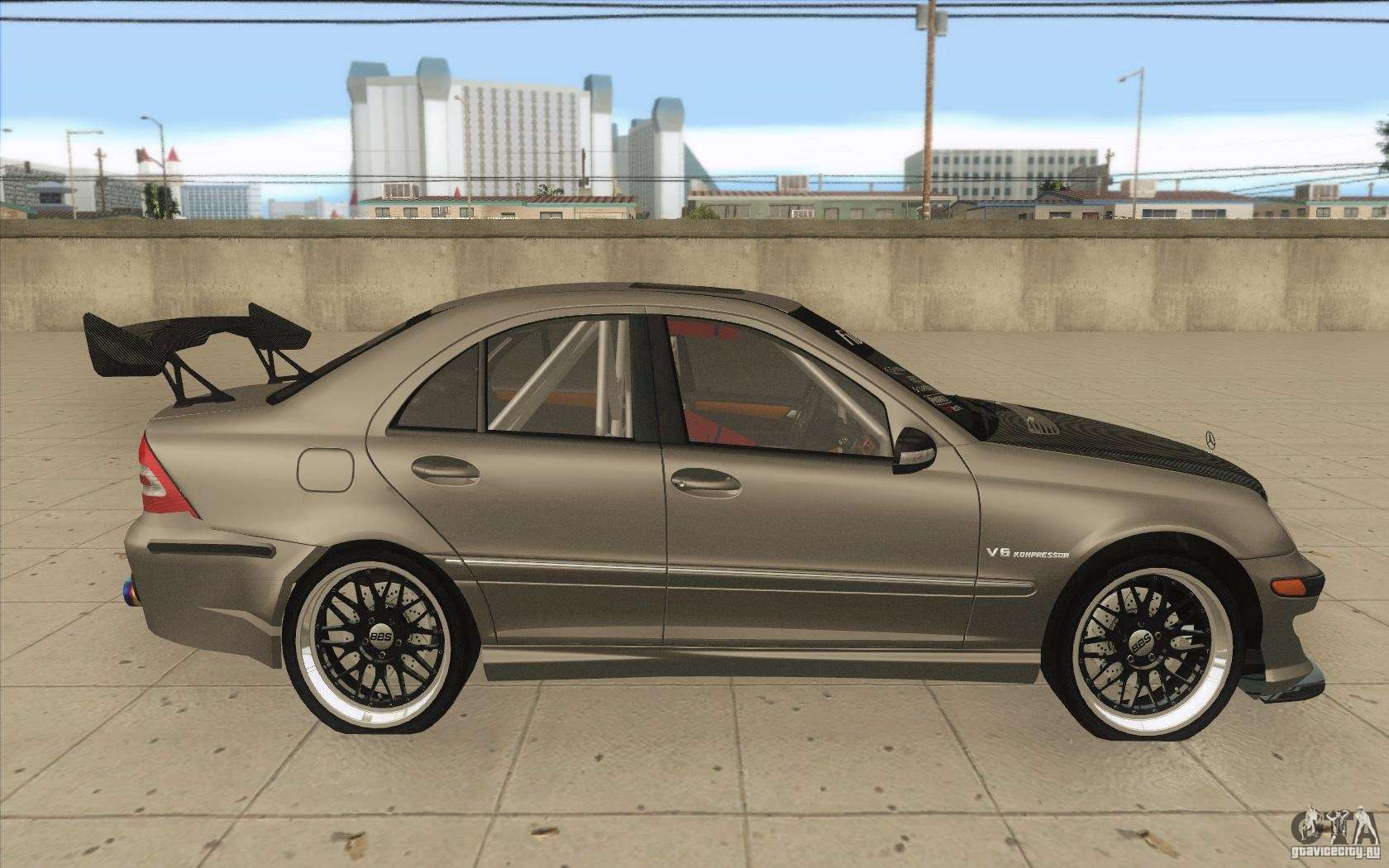 Mercedes Benz C32 Amg Tuning For Gta San Andreas