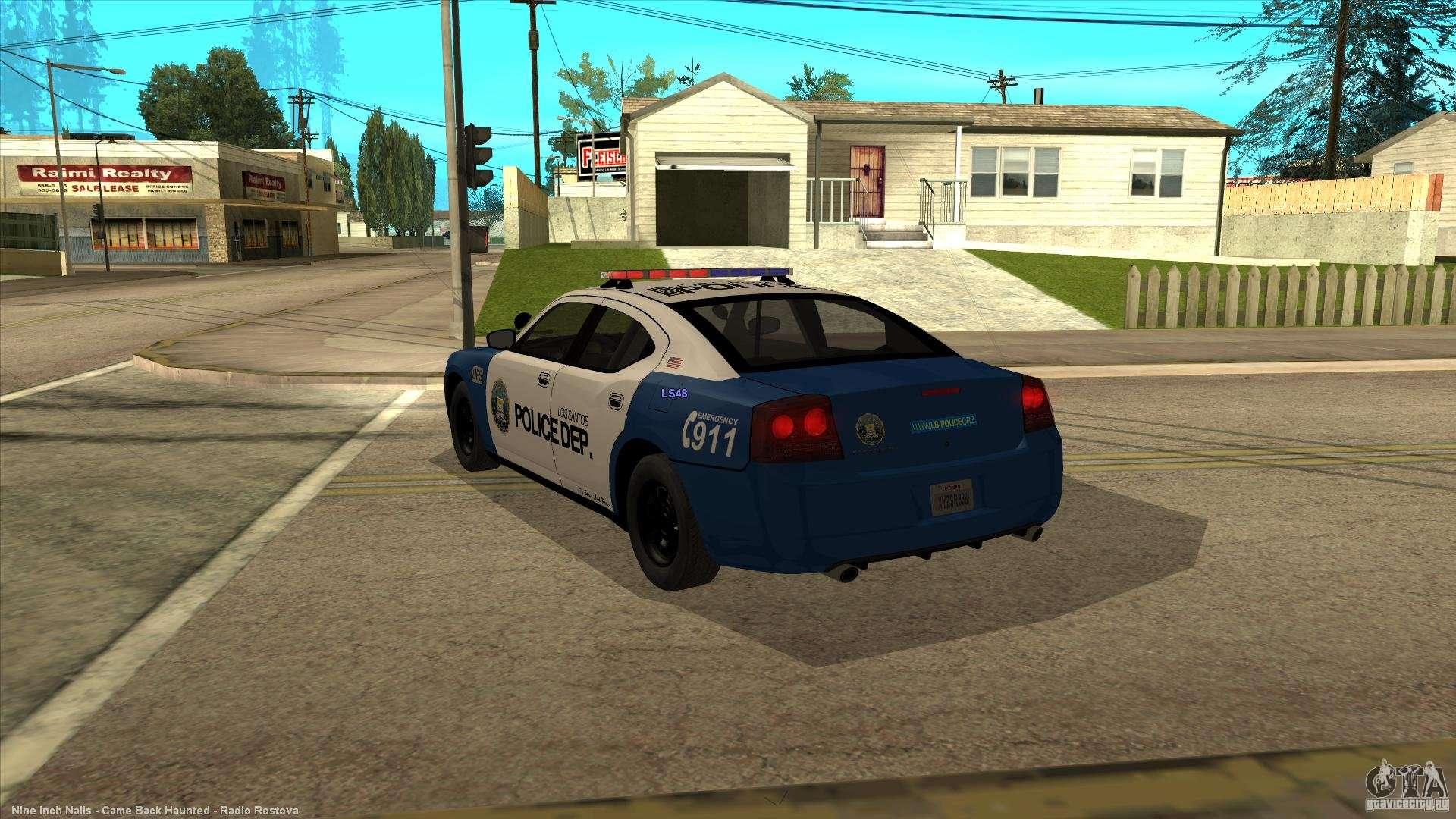 Dodge Charger Los Santos Police For Gta San Andreas