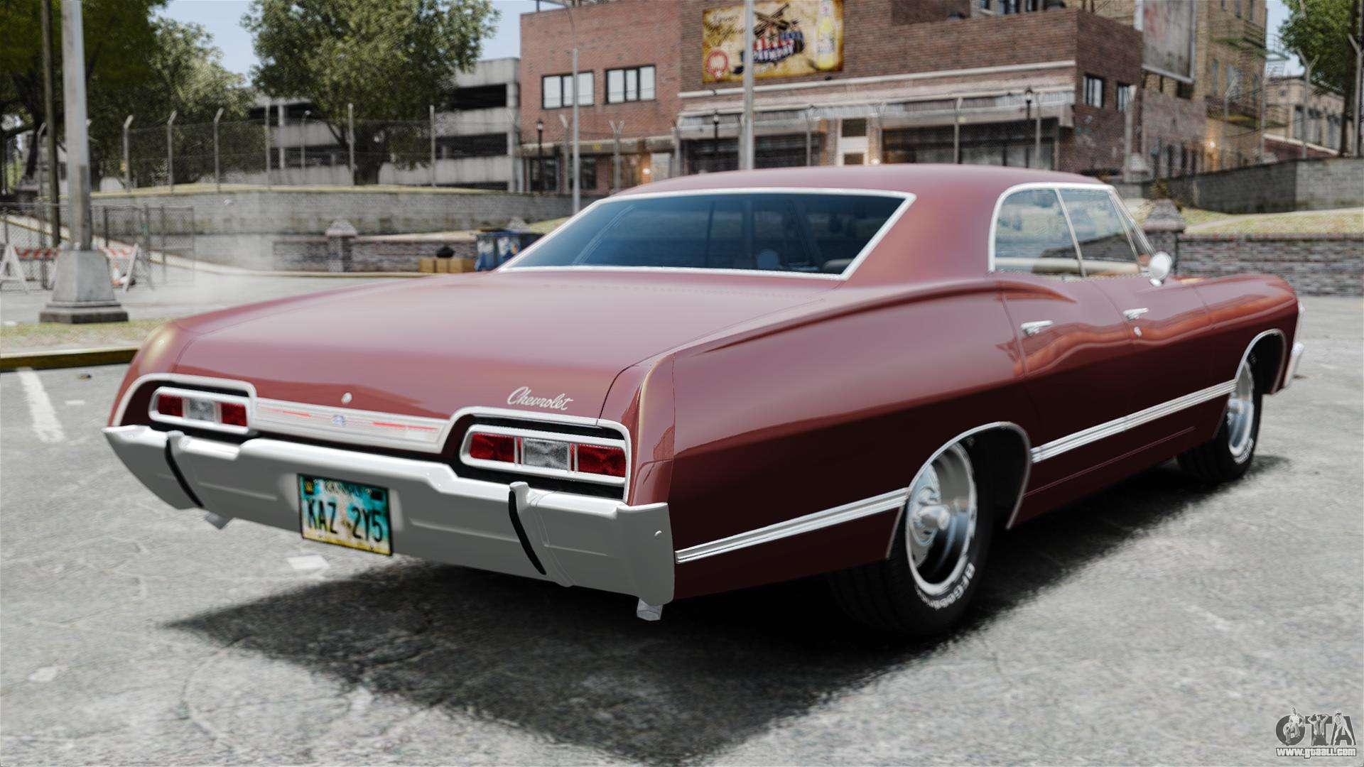 Chevrolet impala 1967 for gta 4