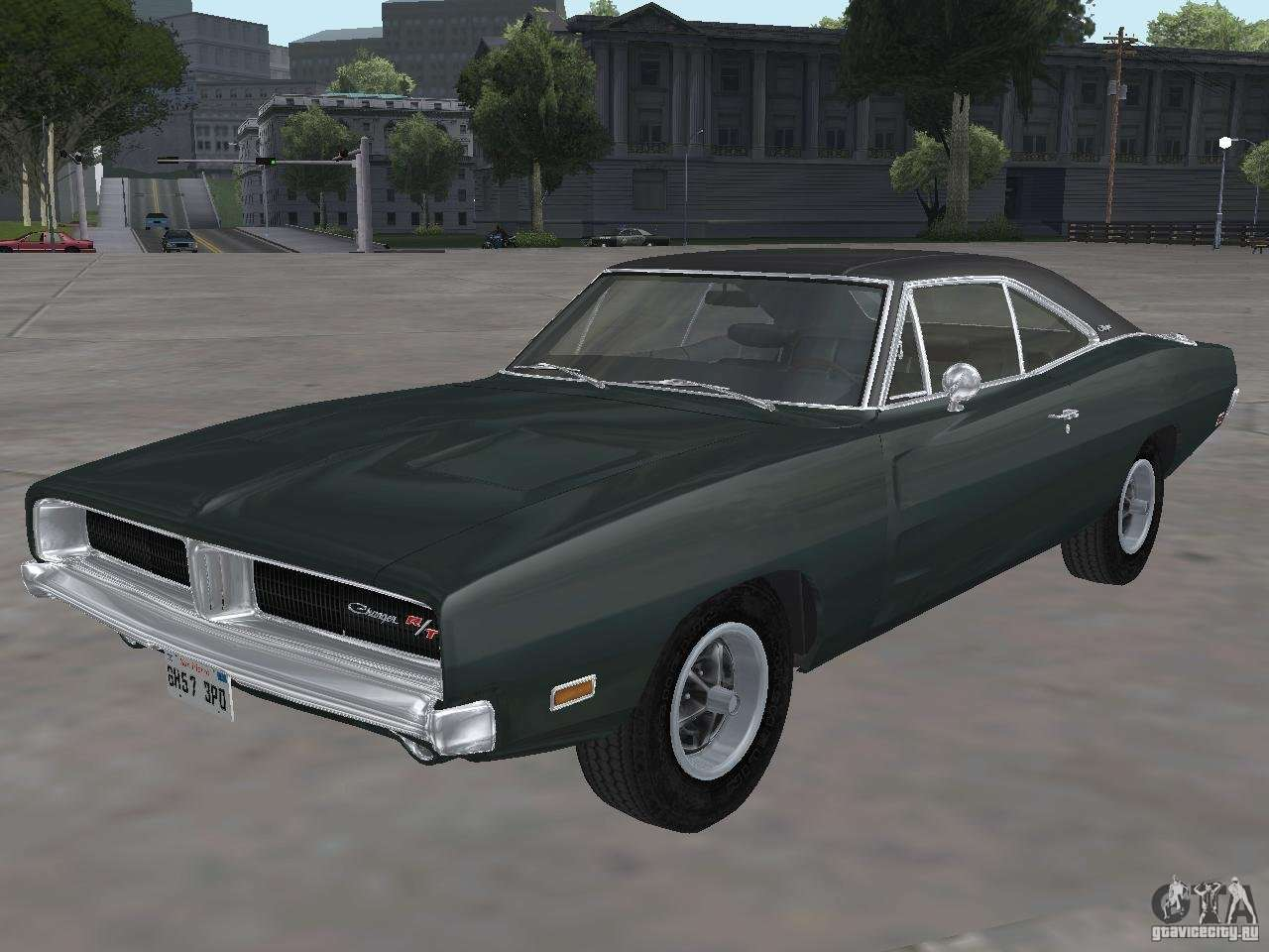 Dodge Charger Srt Hellcat >> Dodge Charger 1969 for GTA San Andreas