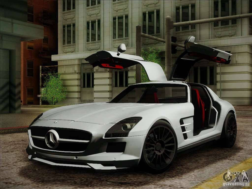Mercedes benz sls amg for gta san andreas for Mercedes benz gta