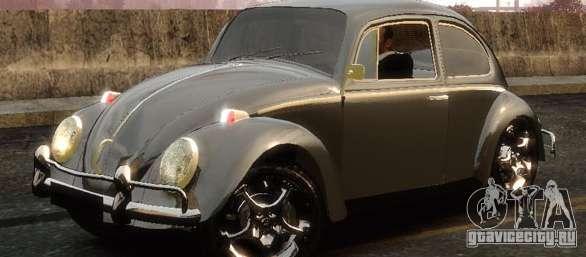 8 Passenger Minivan >> Volkswagen Fusca for GTA 4